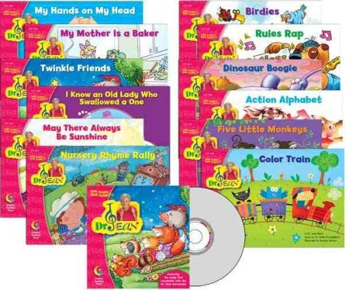 By Dr. Jean Feldman Sing Along & Read Along with Dr. Jean Readers Variety Pack w/CD gr. PreK - 1