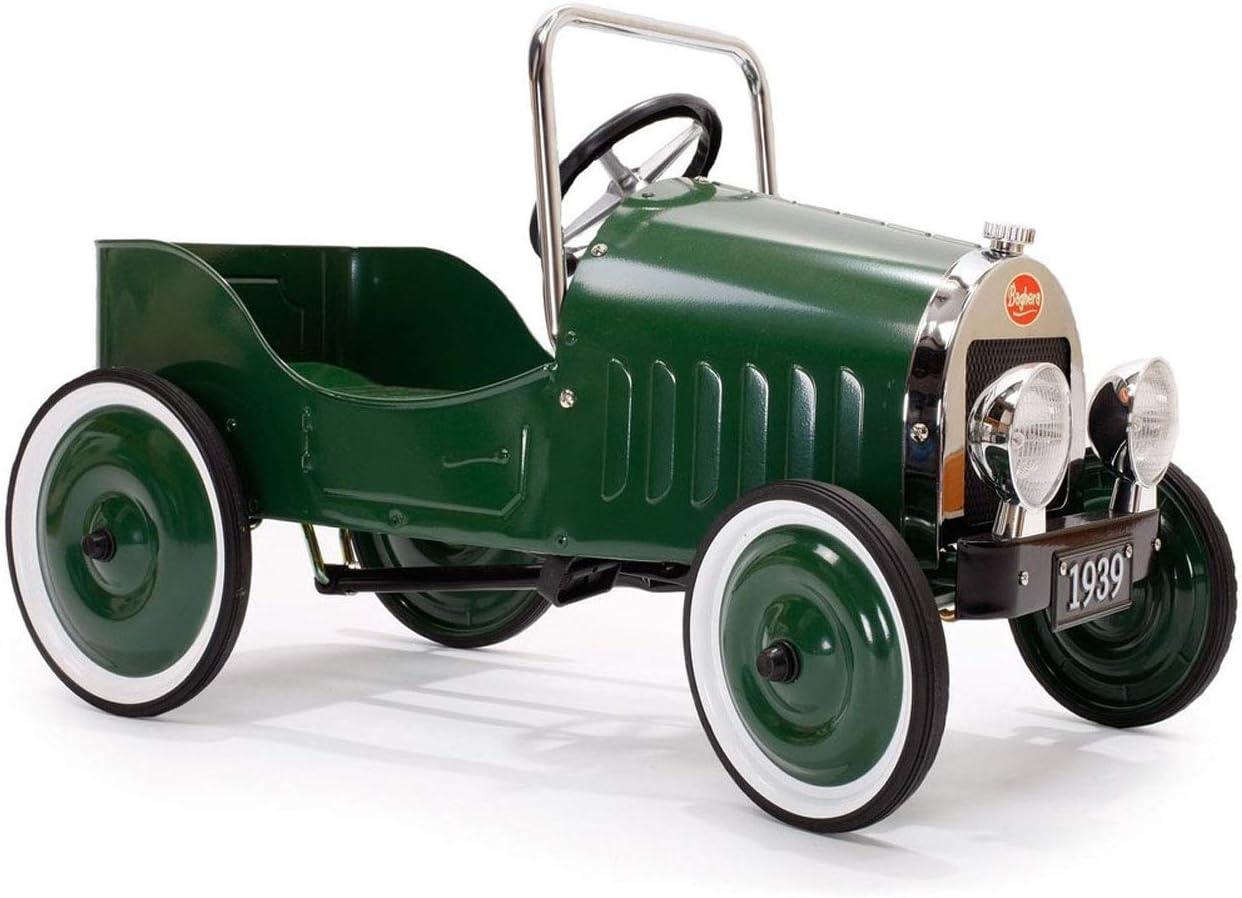 Le Petit Nouveau Coche de Pedales, Color Verde (Baghera Clasico)