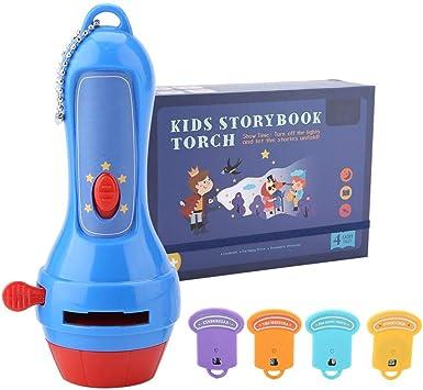Proyector táctil de linterna de cuento de hadas para niños ...