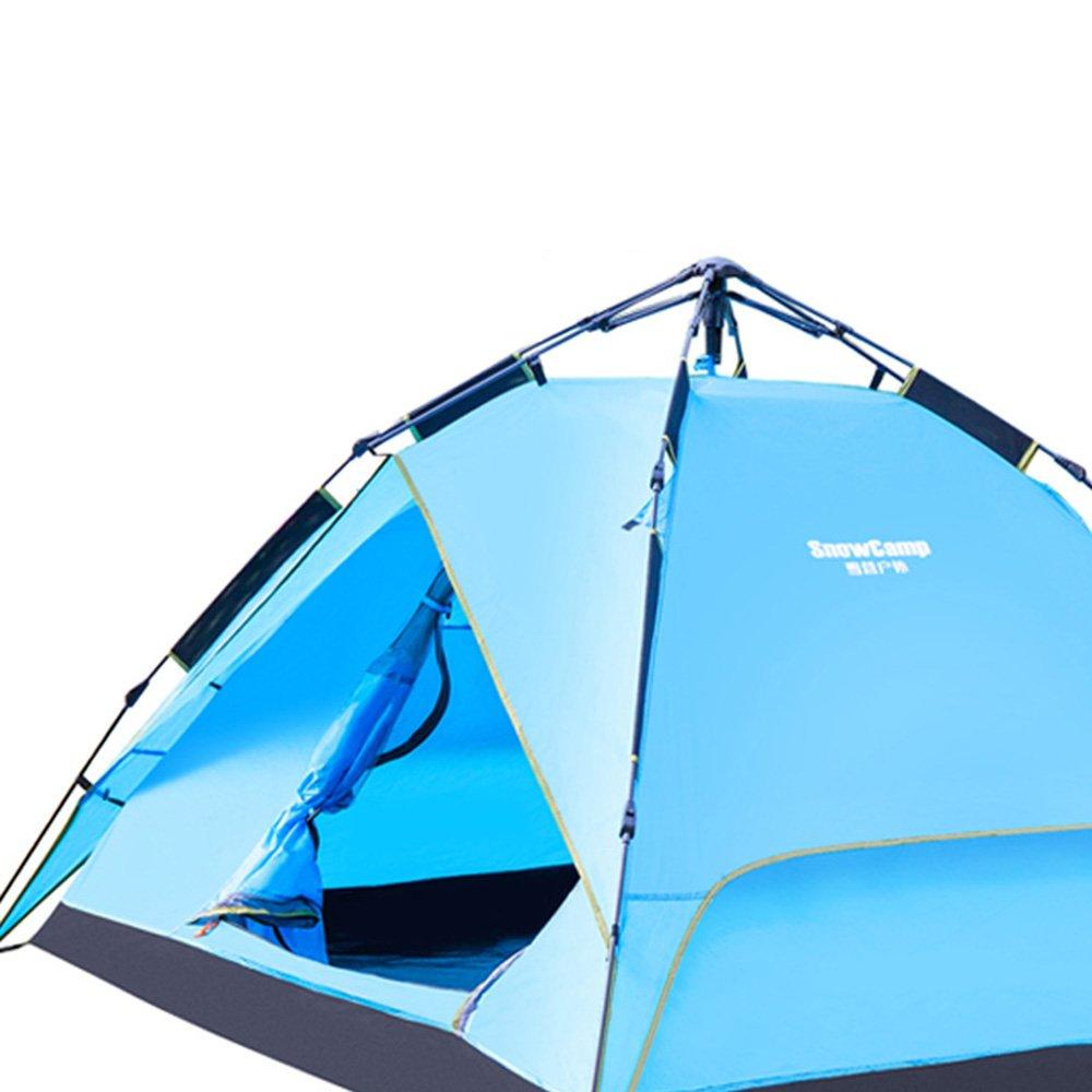 Allight Outdoor Strandzelt Strandmuscheln Zelte Family Sonnenschutz UV-Schutz UV50+ Tragbares Regen Prävention Super Leicht Blau, Geeignet für 3 - 4 Personen