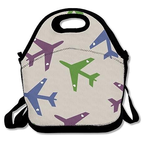 Amazon.com: Avión volando almuerzo bolsa bolsas ...