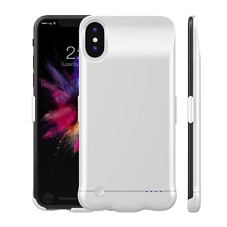 ca984cd5c8 COOLEAD iPhone X 専用バッテリーケース iPhone 10 充電ケース 軽量 薄型 5200mAh 大容量 バッテリー