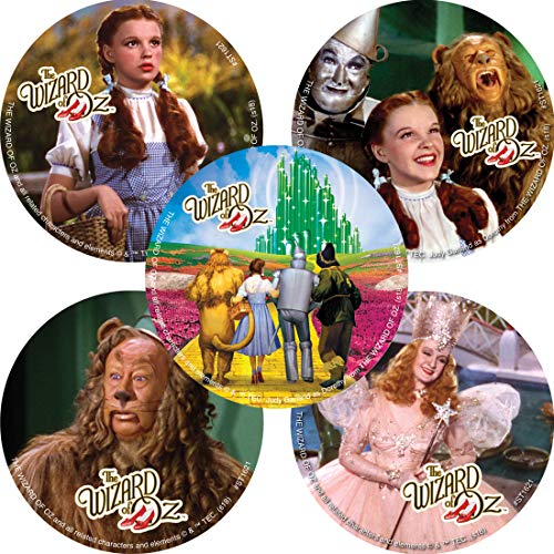(SmileMakers The Wizard of Oz Stickers - Prizes 100 per Pack)