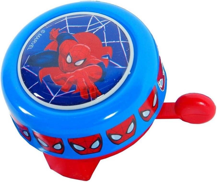 GUIZMAX Campana Metal Redondas Spiderman, Bicicleta Niño Nuevo ...
