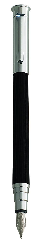 Editions Oberthur Cedre pluma estilogr/áfica media de madera de /ébano