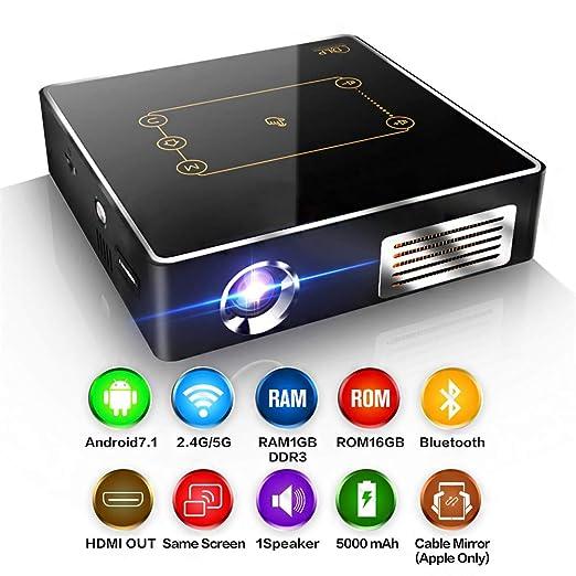 Mini proyector de 150 lúmenes ANSI, proyector de Cine en casa DLP ...