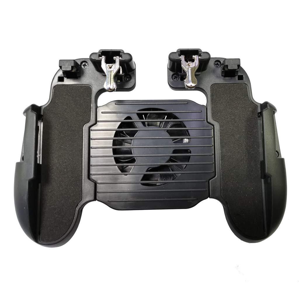 Wawer H5 Mobile Game Controller f/ür PUBG 4in1 Gamepad Schie/ßen und Trigger Telefonk/ühlung