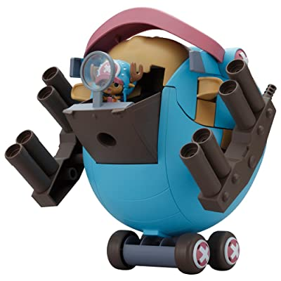 """Bandai Hobby Chopper Robo Super 1 Guard Fortress """"Onepiece"""" Building Kit: Toys & Games"""