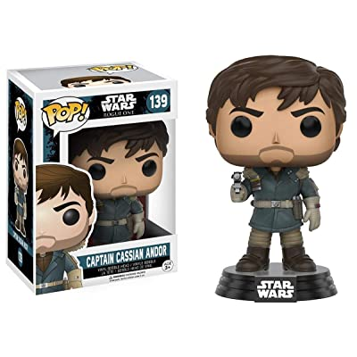 POP Star Wars: Rogue One - Captain Cassian Andor: Funko Pop! Star Wars:: Toys & Games