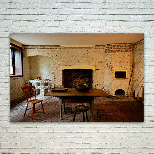 Century Fireplaces 18th (Westlake Art Poster Print Wall Art - Hearth Wall - Modern Picture Photography Home Decor Office Birthday Gift - Unframed - 4x6in)
