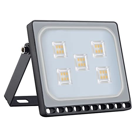 30W LED Foco Proyector Exterior, Ultra finos 24000LM Luz IP65 ...