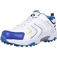 SG Shoe SG Scorer 3.0 WHT/Aqua/RBL No. 6 Cricket Shoes, 6 (WHT/Aqua/RBL)