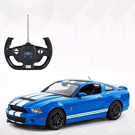 Zhangl Carga de Control Remoto Modelo de Juguete de ni/ños Ford Mustang Control Remoto Drift Racing Coche de Juguete ni/ño Doble Grip Distancia Entre Padres e Hijos