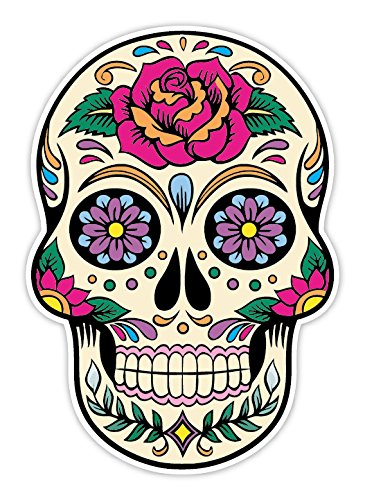OSMdecals - Sugar Skull Sticker Version 20 - Day of the Dead