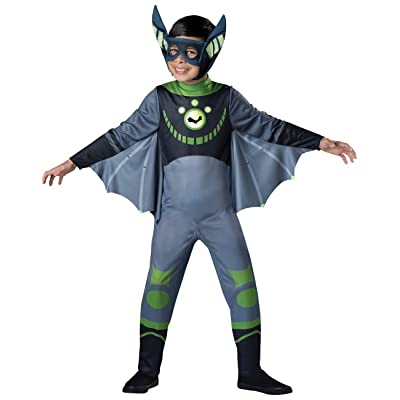 Fun World InCharacter Costumes Bat - Green Costume, One Color, X-Small: Toys & Games