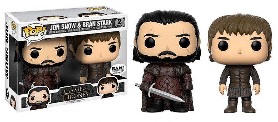 Vinyl Pop Jon Stark Thrones Bran Snow And Funko Game Of Figure 6gyYbf7