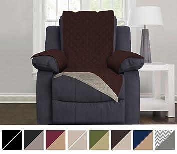 Bon The Original SOFA SHIELD Reversible Couch Slipcover Furniture Protector, 2  Inch Elastic Strap, Machine