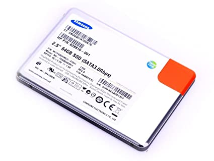 HP ap5000 64GB - Disco duro sólido (Negro, Plata, SATA, MLC, 0 ...