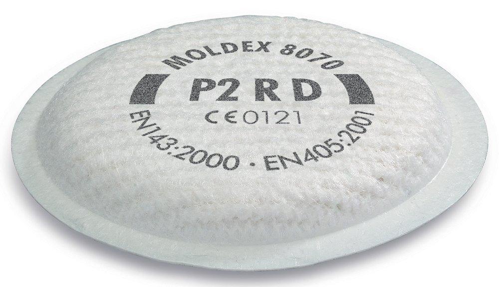 confezione da 4 BeeSwift M8070 Moldex P2 R D-Pr