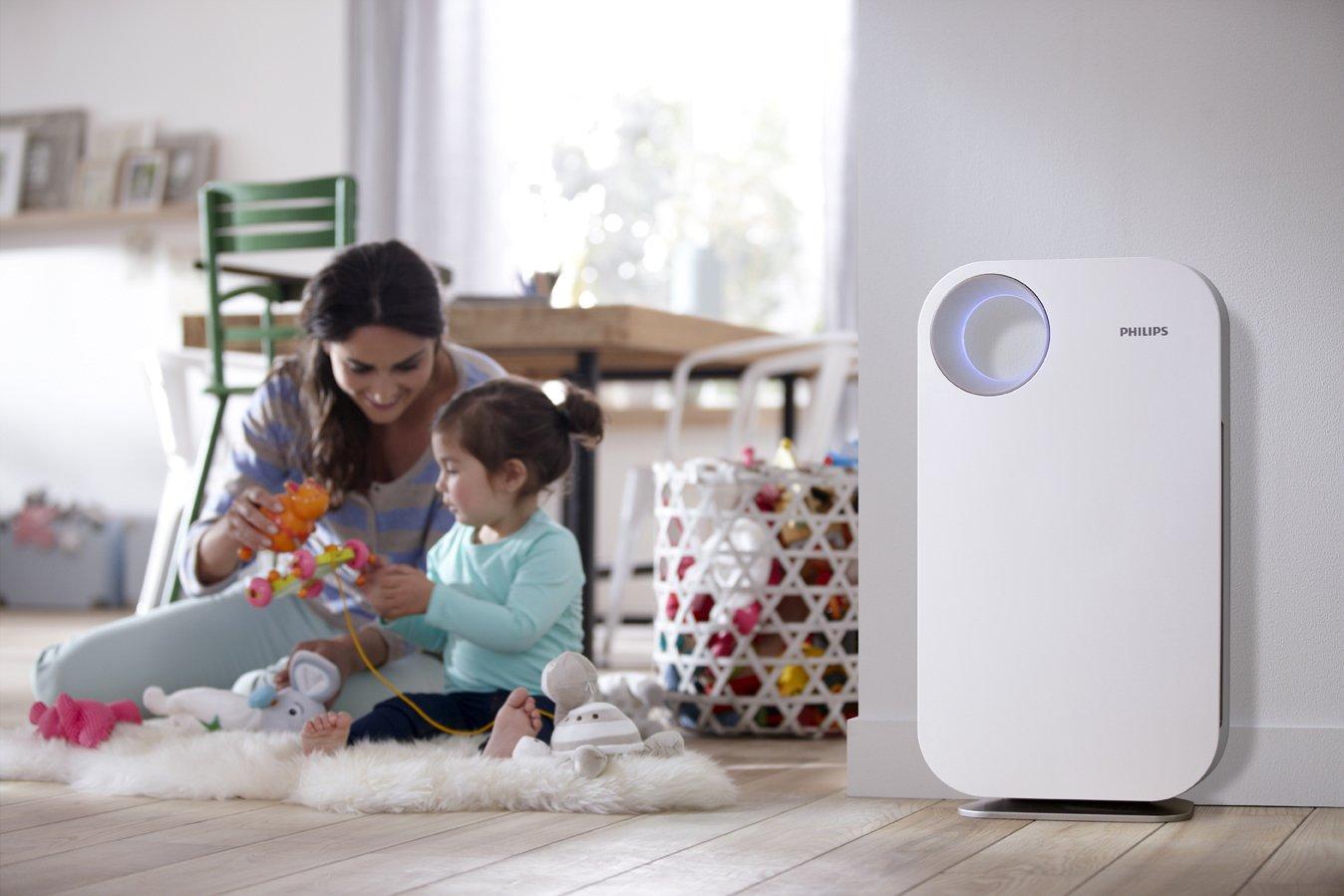 Purificador de aire con filtro HEPA, Philips