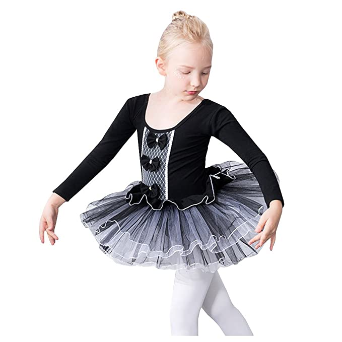 1dcd50946 Lisianthus Girls  Gymnastics Tutu Ballet Leotard Dress  Amazon.ca ...
