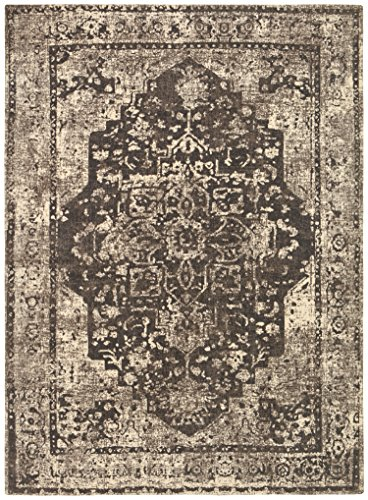 Stone & Beam Contemporary Distressed Vintage Rug, 8' x 11', - Stone 11'