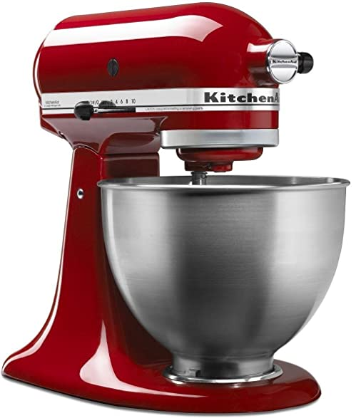 Amazon.Com: Kitchenaid 4.5 Qt. Classic Red Stand Mixer: Electric