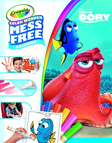 Crayola Color Wonder Mess-Free Finding Dory Coloring Book - Color Wonder Markers Sold Separately