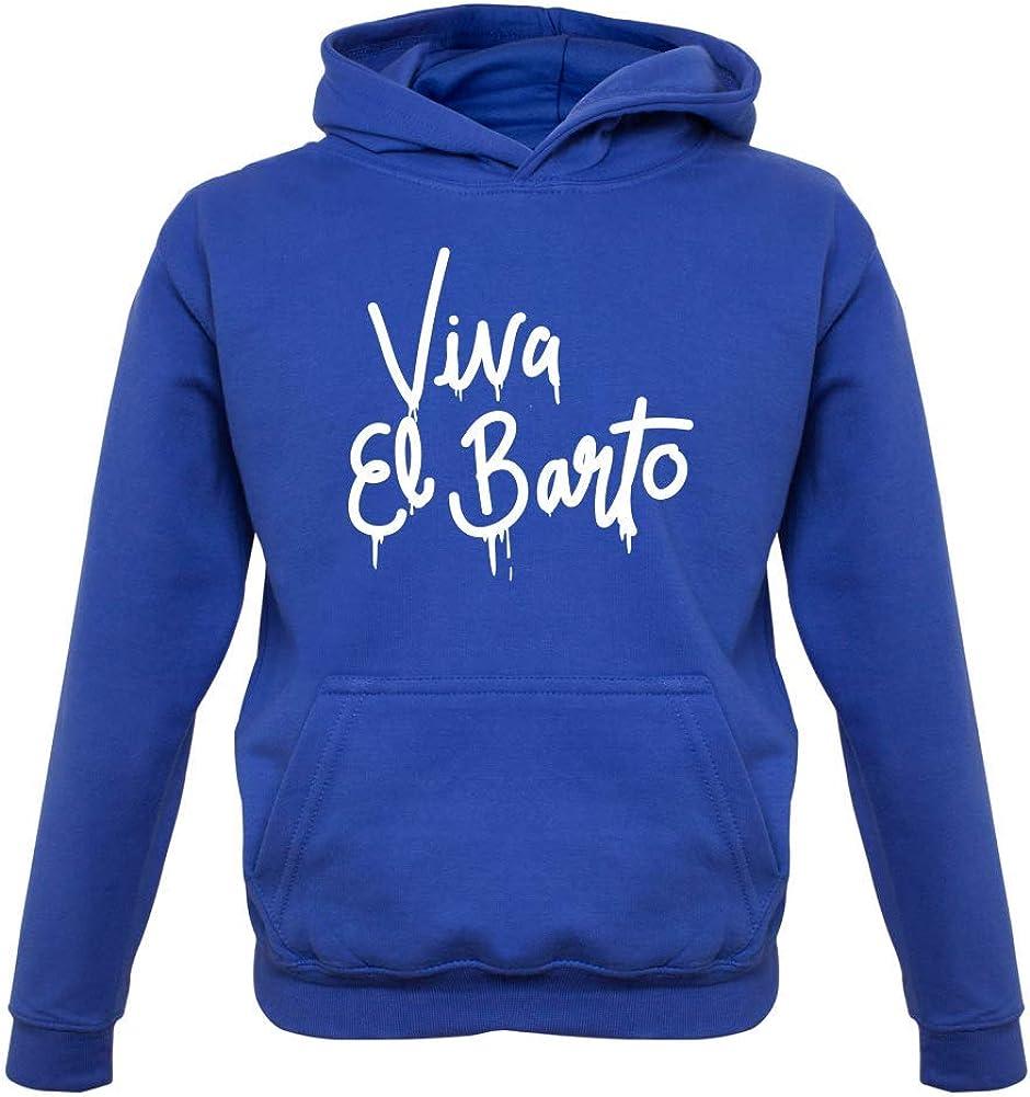 9 Colours Viva El Barto 1-13 Years Kids Hoodie