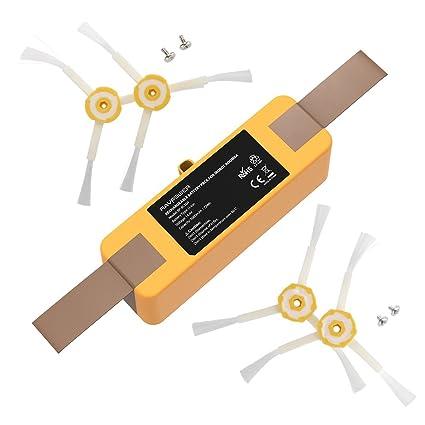 RAVPower Batería Roomba 5000mAh Aspirador iRobot Modelos R3, 500, 510, 530, 531, 532, 535, 536, 540, 550, 552, 562, 570, 580, 595, 600, 620, 630, 650, ...