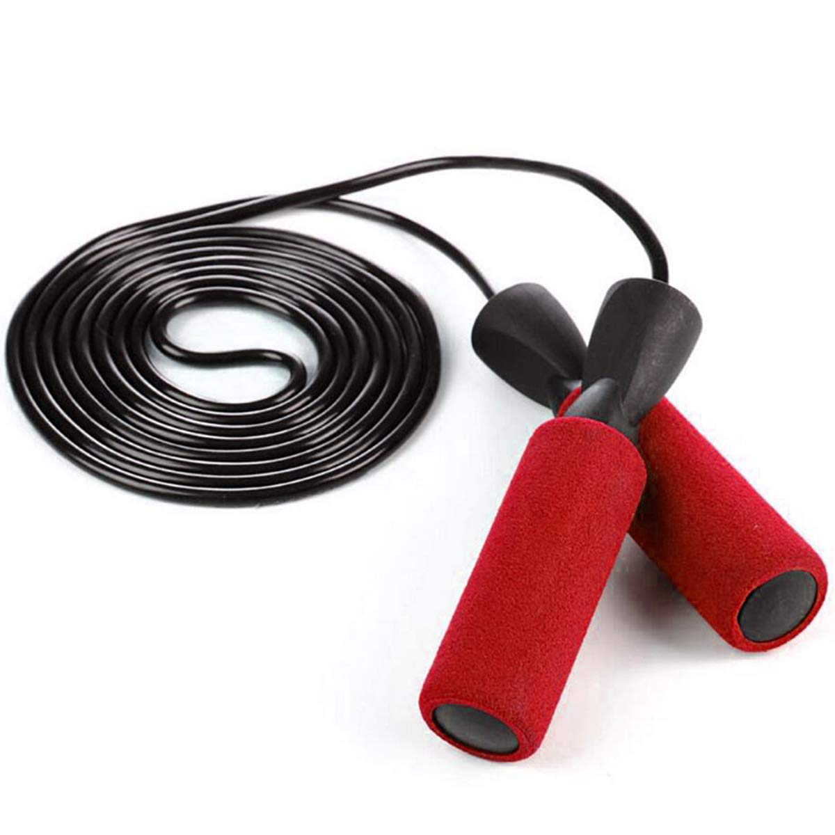 Easily Adjustable Gym /& More Home Workouts OPII Jump Rope Experience Levels Comfortable Anti-Slip Handles for Kids and Adults! Cross Fitness Weight-Loss Cardio