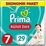 Prima Külot Bebek Bezi 7 Beden XX Large Ekonomik Paket 29 Adet