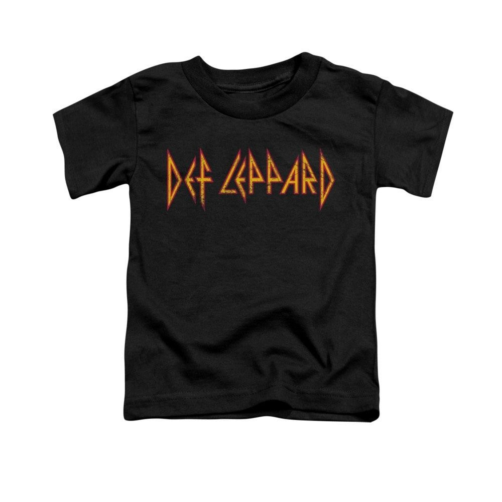 Def Leppard Horizontal Logo Toddler T-shirt