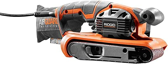 Ridgid 6.5 Amp Heavy Duty Variable Speed Belt Sander (Renewed)