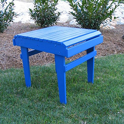 Adirondack Table Blue End (Weathercraft Designers Choice Painted Side Table)