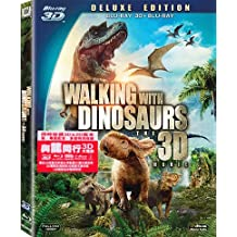 Walking With Dinosaurs The Movie 2D + 3D (Region A Blu-ray) (English, Cantonese Languages) Deluxe Edition