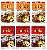 Savory Choice Variety: (3) Chicken & (3) Beef Demi