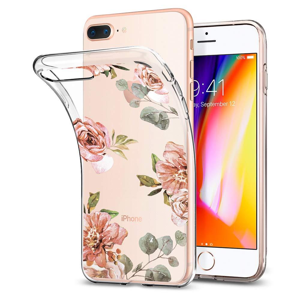 Funda Spigen iPhone 7/8 Plus [aquarelle Rose] L