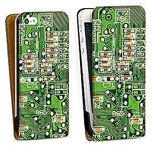 Diseño para Apple iPhone 5 DesignTasche Downflip black - Platine