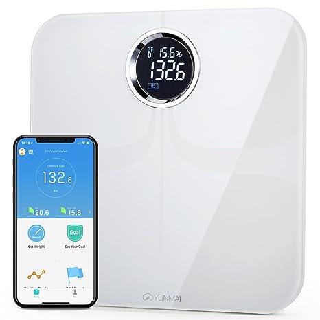 buy yunmai premium bluetooth 4 0 smart scale body fat monitor 10