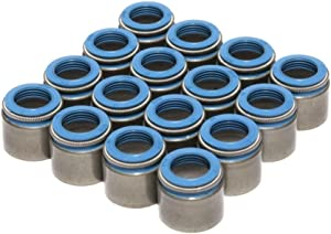 "COMP Cams 518-16 Set of 16 Metal Body Viton Valve Seals for .530"" Guide Size, 11/32"" Valve Stem"