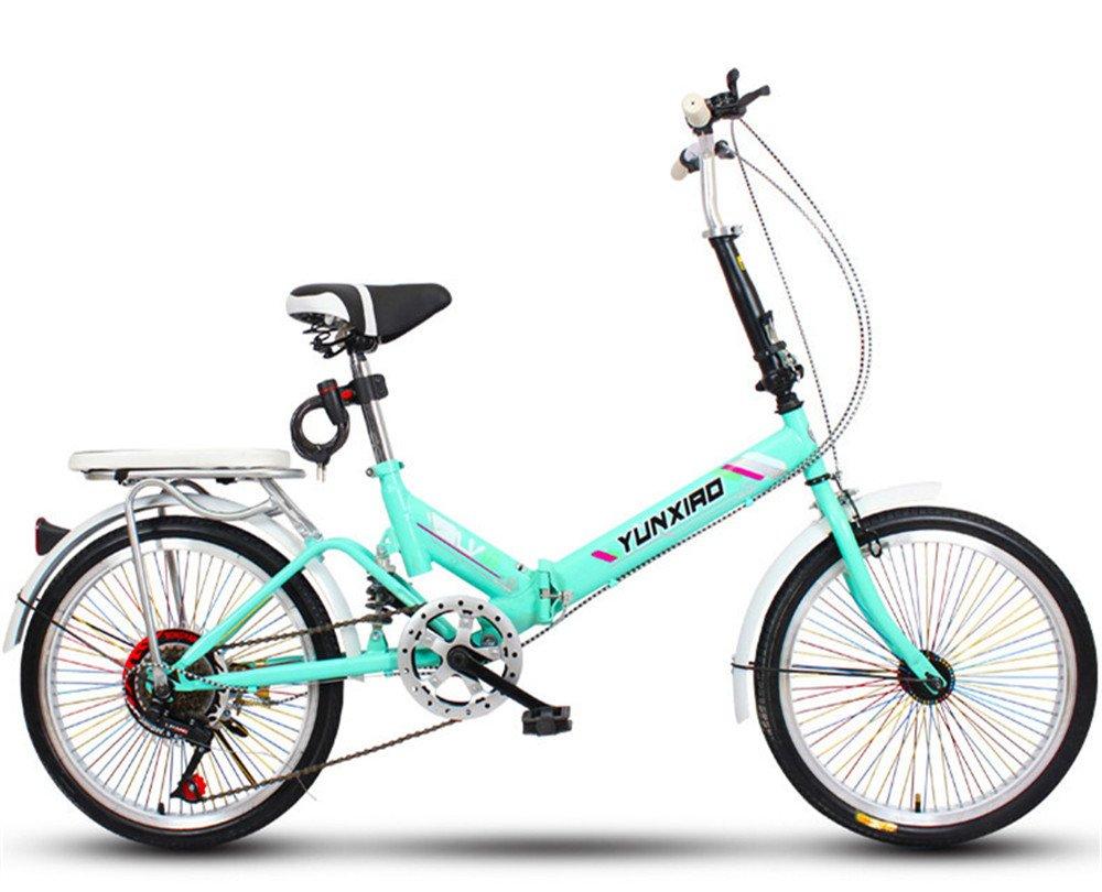 折りたたみ自転車 折り畳み 16インチ 20インチ 変速自転車 単速  変速 通勤 通学 小型 小径 簡単収納 B07BTZ7SH1 20インチ変速&バージョンアップ|U U 20インチ変速&バージョンアップ