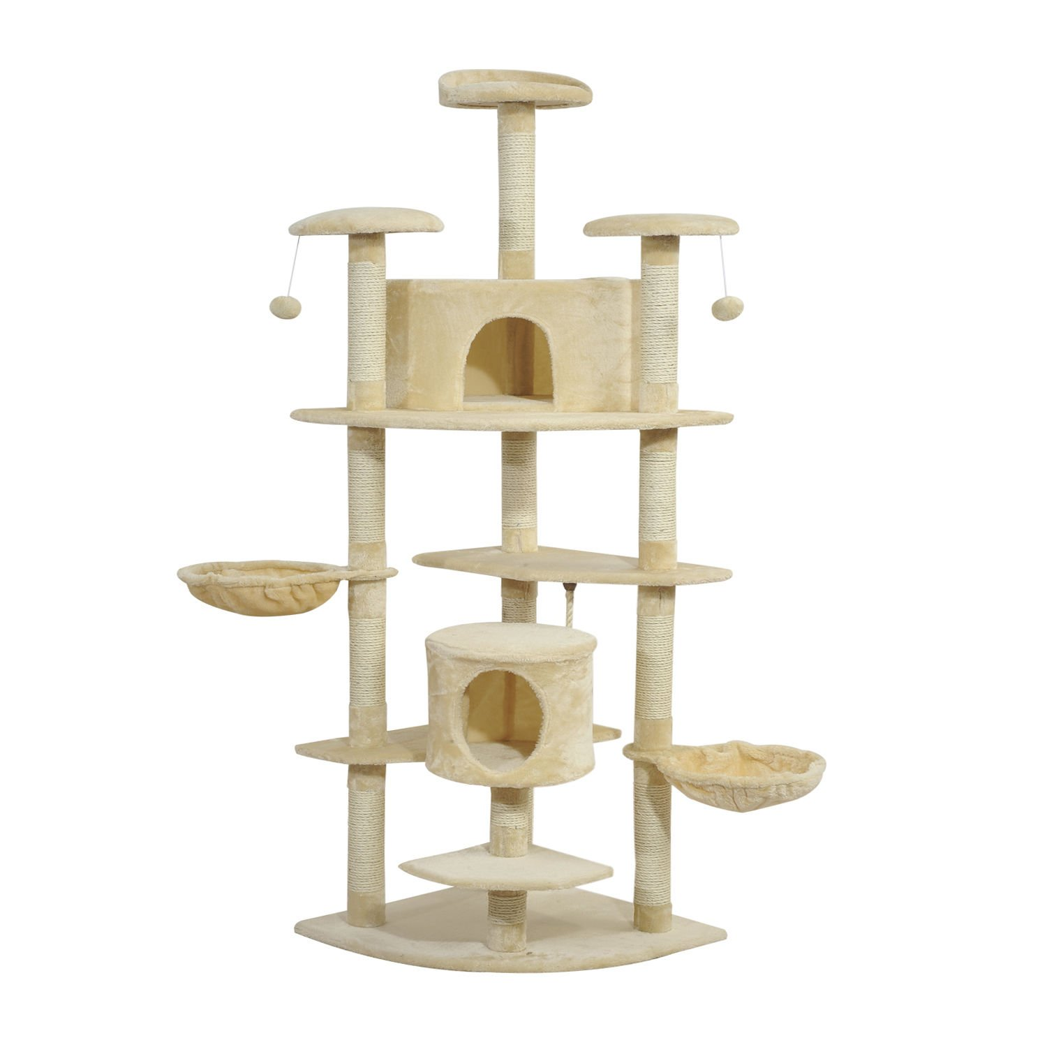 Cat Tree House Condo Post Play Toy Tower Kitten Furniture Scratch Pet Palace by Allgoodsdelight365
