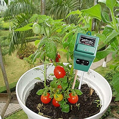MyBreeze@ [Pack of 2 3-in-1 Soil Tester Meter, Measuring Soil PH Value and Moisture Level Plus Sunlight Intensity for Garden, Lawn, Farm, Plants, Flowers, Vegetable, Herbs & More (PHMeterX2) : Garden & Outdoor
