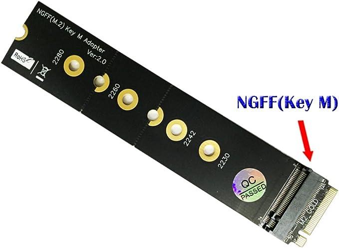 NGFF LYWS M.2 Key M Extender Adapter
