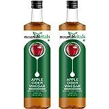 Nourish Vitals Apple Cider Vinegar With Mother Vinegar 500Ml 2 Bottles