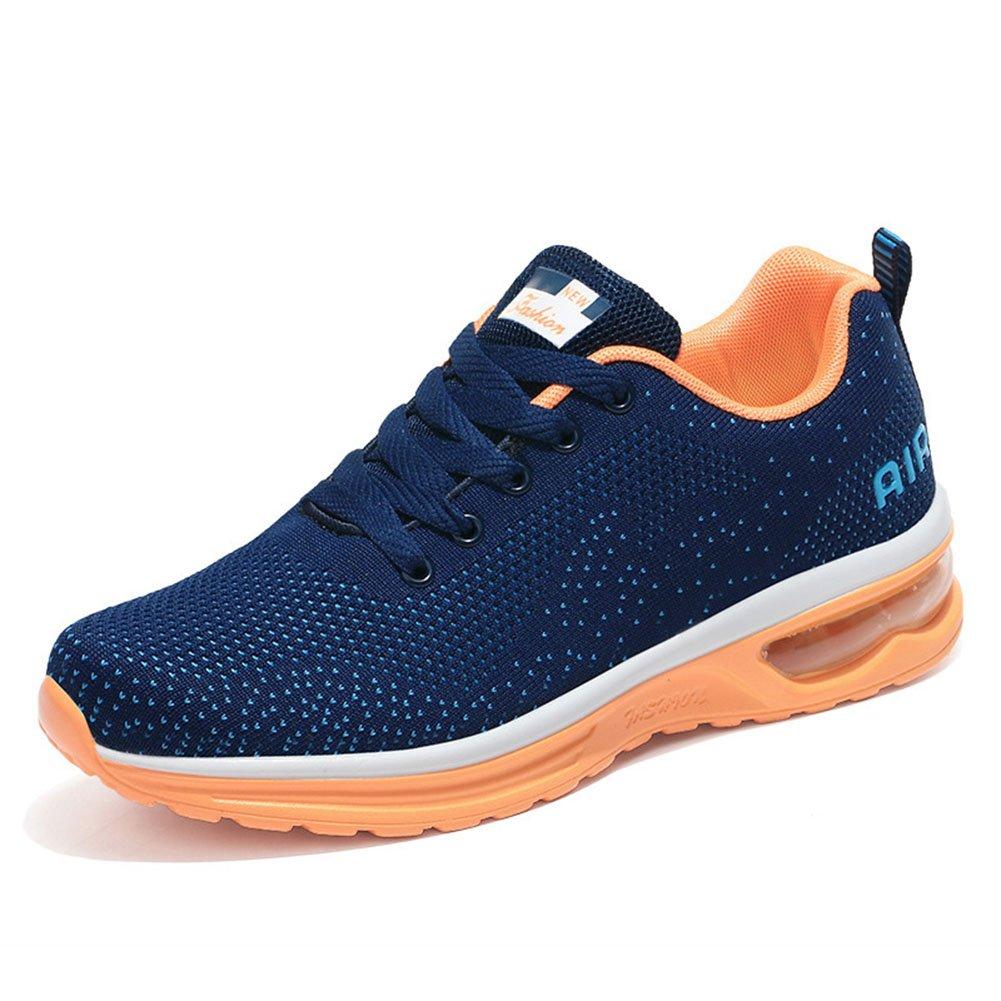 Zapatos Casuales de Mujer, Zapatos de Sacudida de la Aptitud Zapatos Deportivos Zapatos de Correr de la Mujer Zapatilla de Zapatos de Balancín de la Aptitud de Las Señoras (Color : 02, Tamaño : 44) 44|02