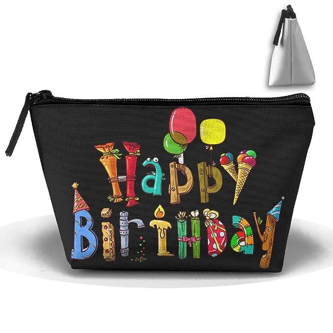 Amazon.com: Portátil de viaje bolsas de almacenamiento feliz ...