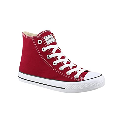 Chaussures Hommes Elara, Rouge, Taille 43