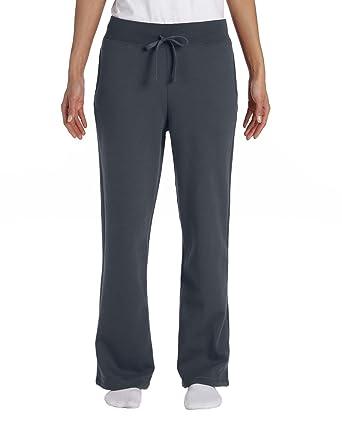 Gildan Womens Open Bottom Sweatpants